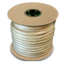 Gold and White Nylon Braid Rope - The Pig Pen Inc.